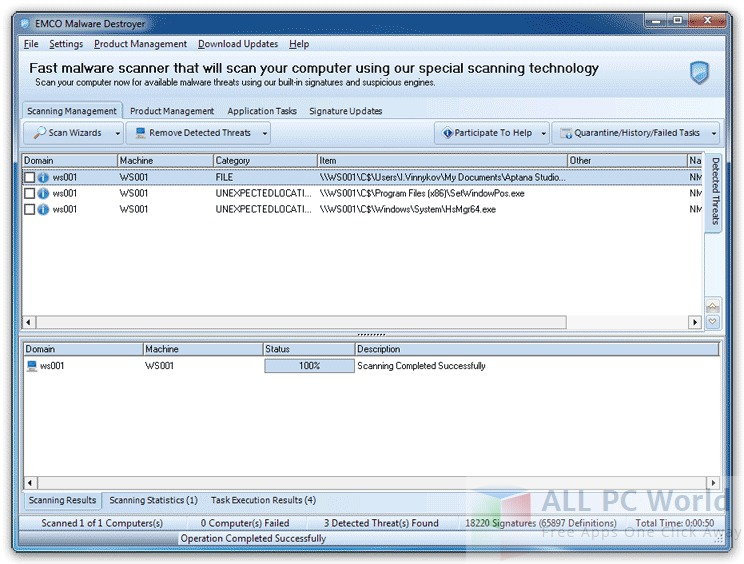 EMCO Malware Destroyer Review