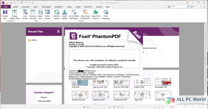 Foxit PhantomPDF Standard Review