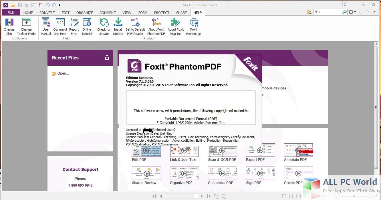Foxit phantom pdf free download