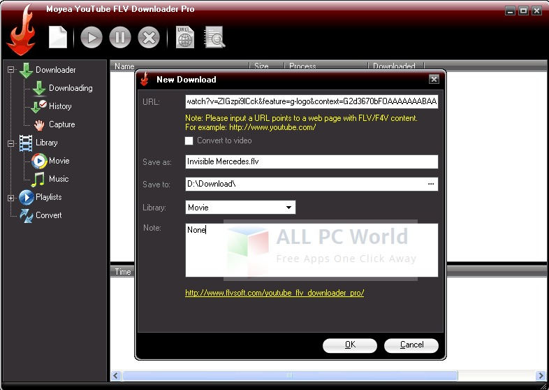 Download Moyea Free Youtube Downloader