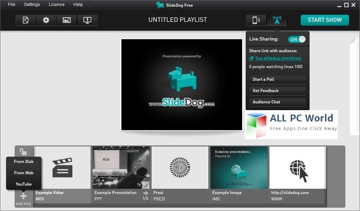 SlideDog Presentation Software Review