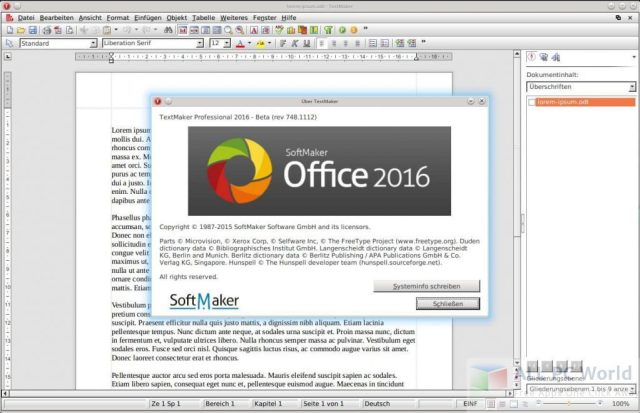 SoftMaker FreeOffice 2016 Review