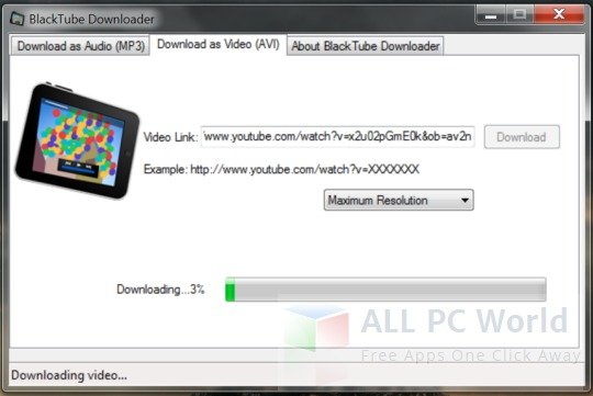 BlackTube Free Youtube Video Downloader Review