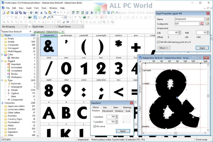 FontCreator Professional Edition 10.1 Review