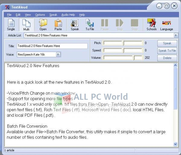 TextAloud Text To Speech Software Review