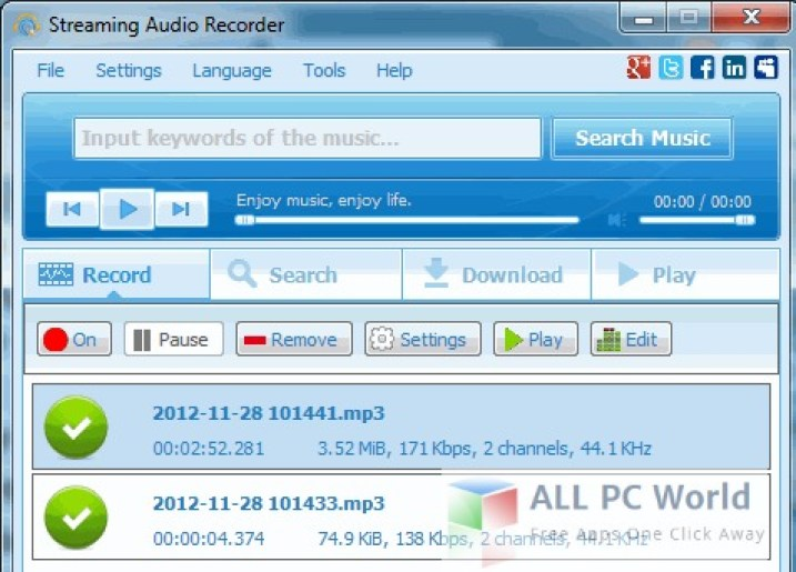 Apowersoft Streaming Audio Recorder Review