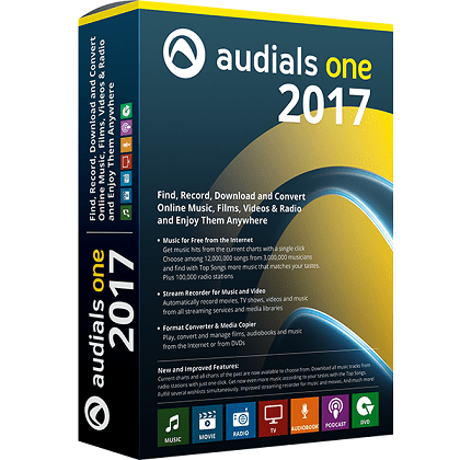 Audials One 2017 Free Download