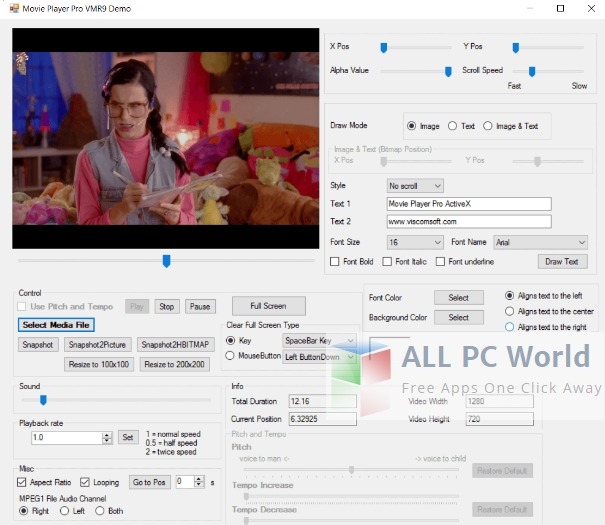 Movie Player Pro SDK ActiveX 10.0 Review