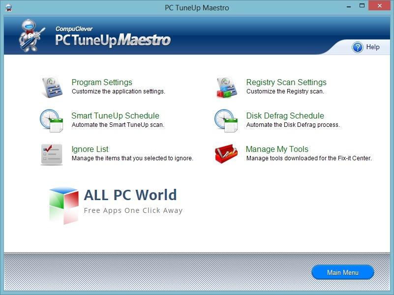 PC TuneUp Maestro Review