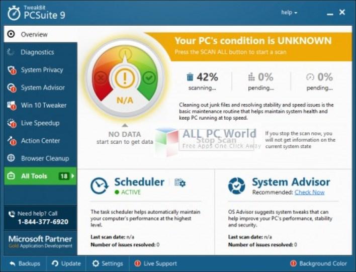 Tweakbit PCSuite Review