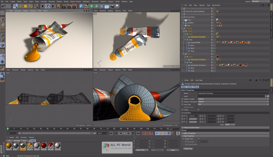 Maxon Cinema 4D R17 AIO Multilingual ISO User Interface
