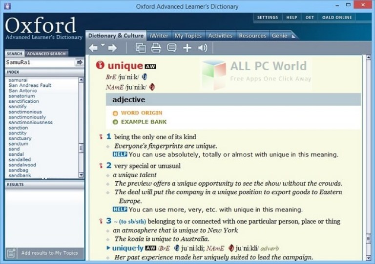 Oxford Advanced Learner's Dictionary 9th Edition Review