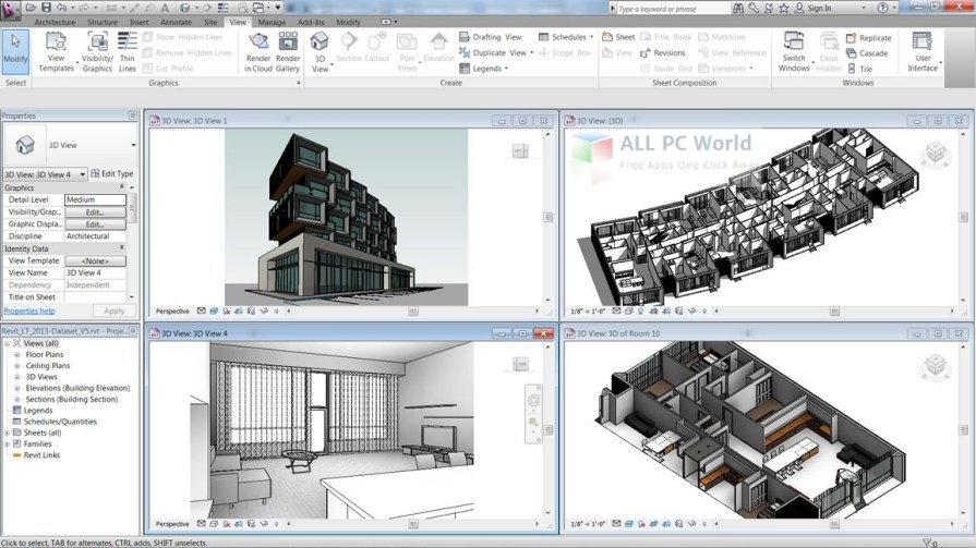 Download Autodesk Revit 2017 Free - Free Download Nulled