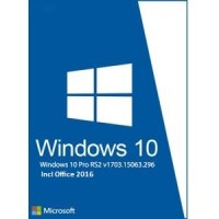 Download Windows 10 Pro RS2 15063 x64 with Office 2016 Free
