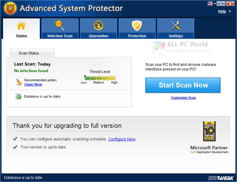 Advanced System Protector Review
