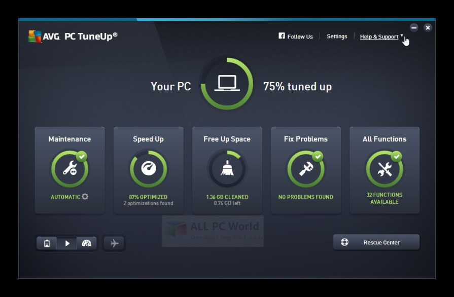 AVG PC TuneUp 2017 Review