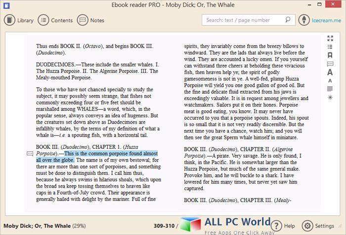 Icecream Ebook Reader Pro 5 Review