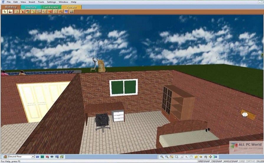 Download 3d home architect design suite deluxe 8 free for 3d home architect