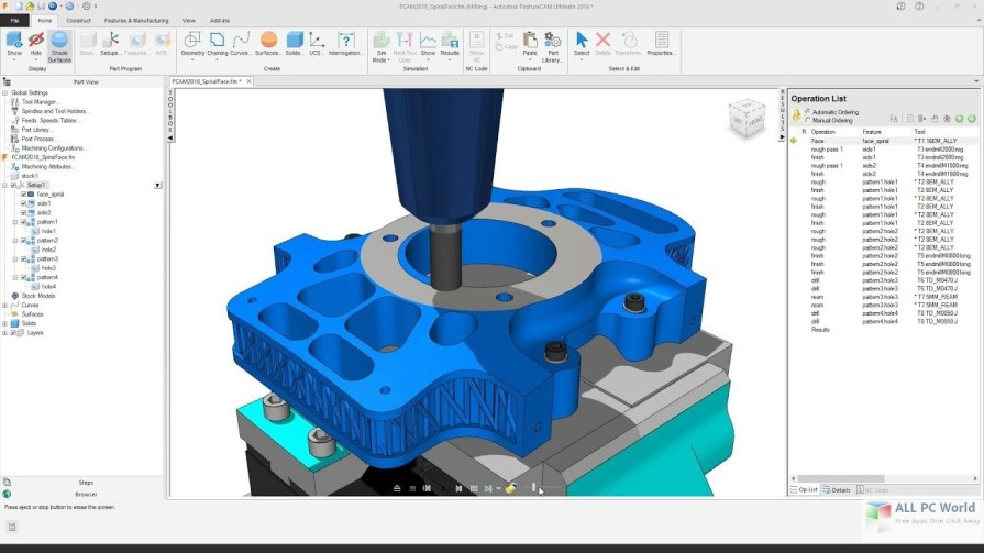 Autodesk FeatureCAM 2018 Review