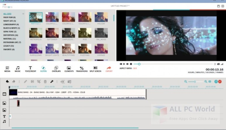 Download Wondershare Filmora 8.5.3 Free Setup