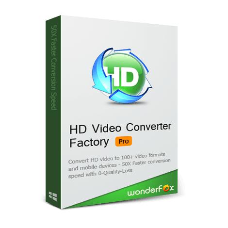 Download WonderFox HD Video Converter Factory Pro Setup Free