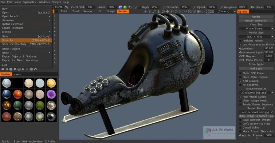 3D-Coat 4.8 Free Download