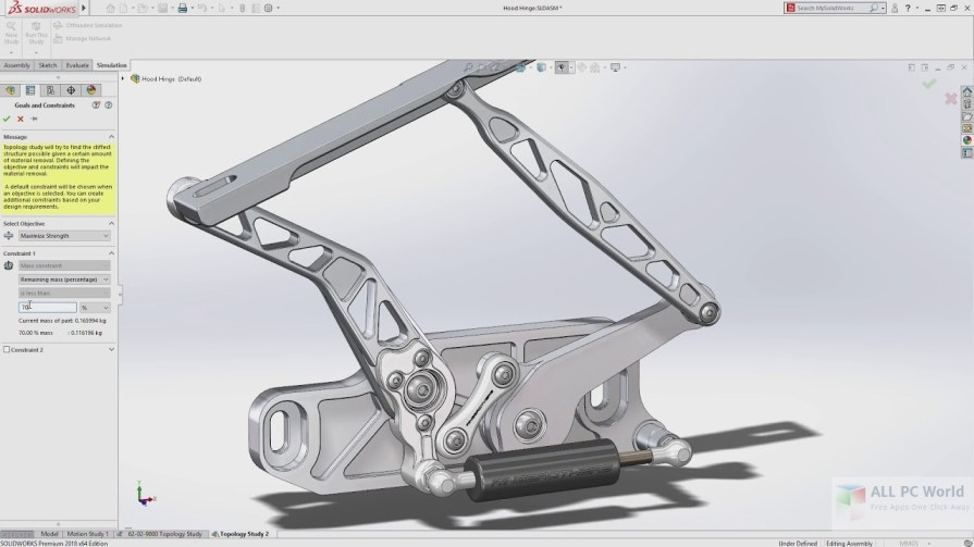 DS SOLIDWORKS Premium 2018 Free Download