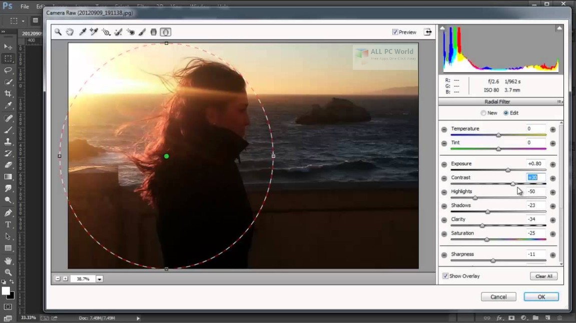 Adobe Camera Raw 11 Free Download - ALL PC World