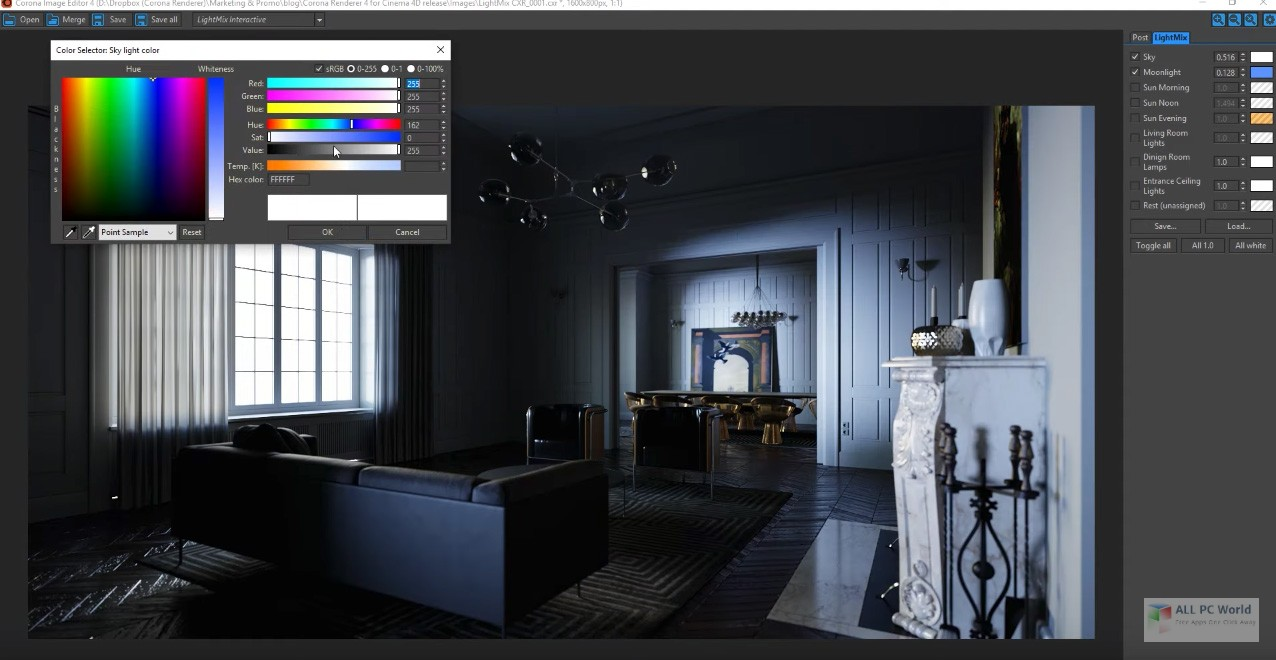 Corona Renderer 4 Free Download - ALL PC World
