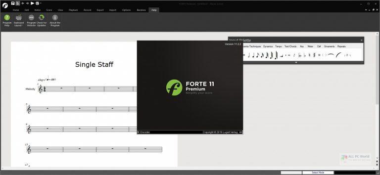 FORTE Premium 2020 v11.2 Free Download