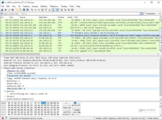 Wireshark 3.4.8 Download