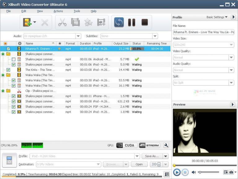 Xilisoft Video Converter Platinum 2020 One-Click Download