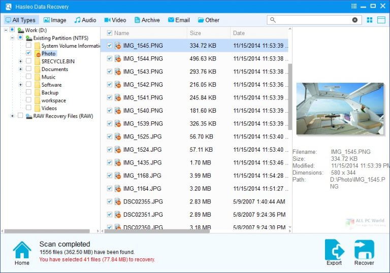 Hasleo Data Recovery 5.8 One-Click Download