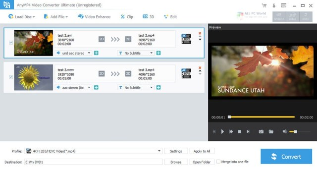 AnyMP4 Video Converter Ultimate 8.3 Direct Download Link