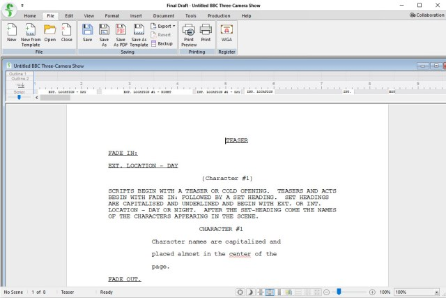 Final Draft 12 Free Download