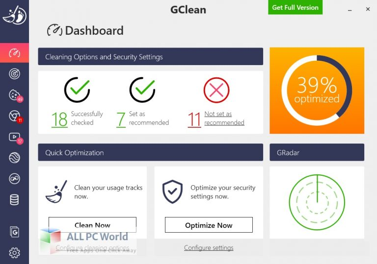 Abelssoft GClean for Windows 11Free Download