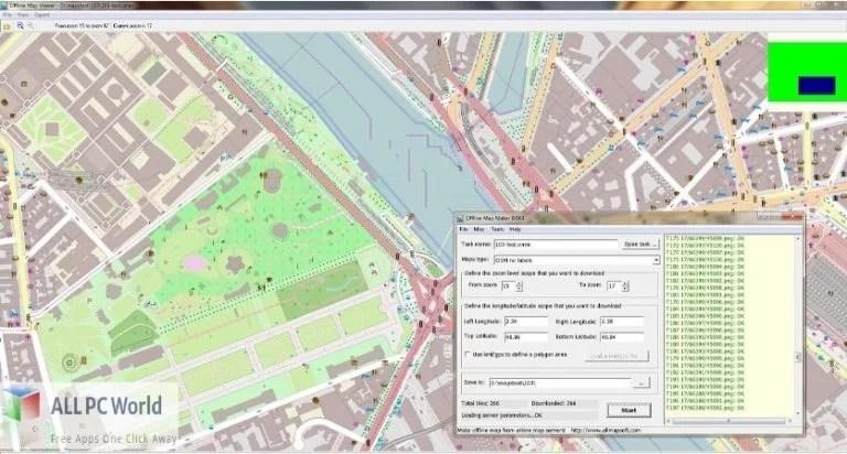 AllMapSoft Offline Map Maker 8 Free Download