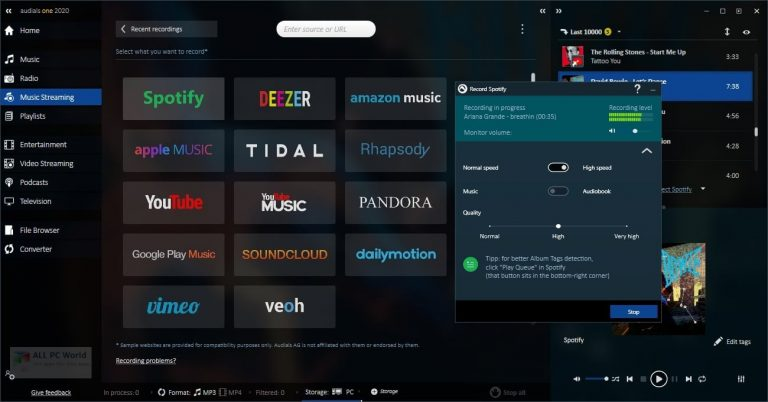 Audials One 2022 Free Download for Windows