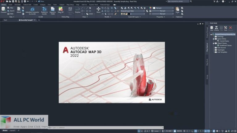 Autodesk-AutoCAD-Map-3D-2022-Free-Download