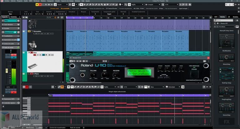 Beat-Machine-Roland-U110-Free-Download