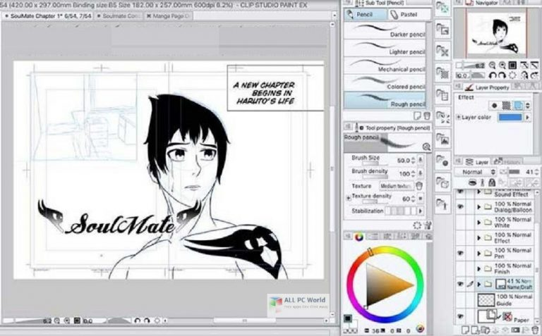 Clip Studio Paint EX with Materials Free Download for Windows 11