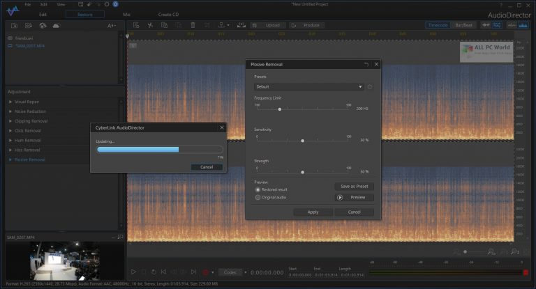 CyberLink AudioDirector 12 Direct Download Link