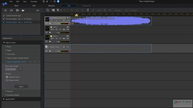 CyberLink AudioDirector 12 Free Download for Windows 11