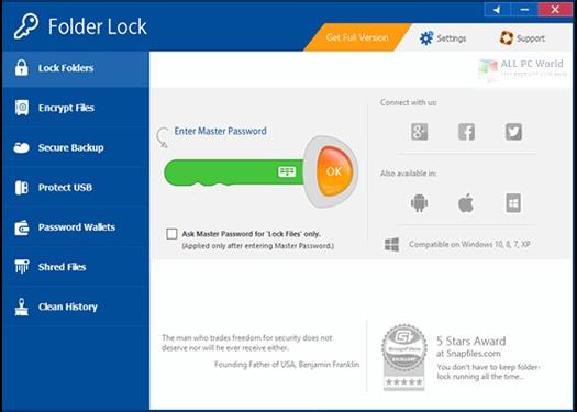 Folder Lock 7.8.3 Full Version Download