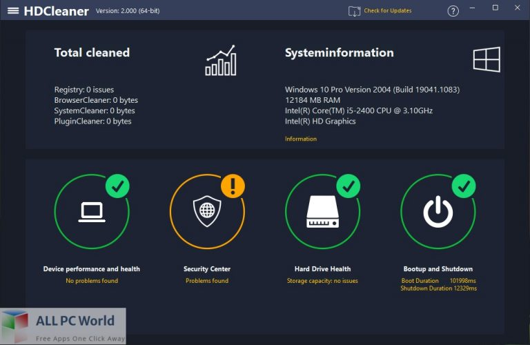 HDCleaner 2 Free Download