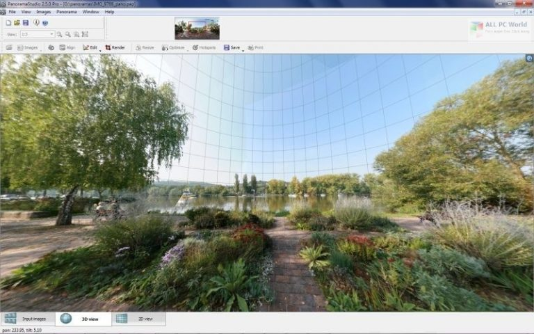 PanoramaStudio Pro 3 Direct Download Linkn allpcworlds