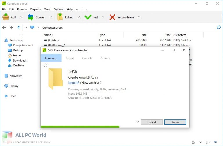 PeaZip 8 Free Download