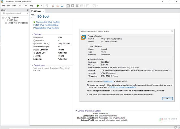 VMware Workstation Pro 16.1.2 Full Version Download