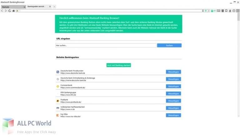 Abelssoft BankingBrowser Free Download 1