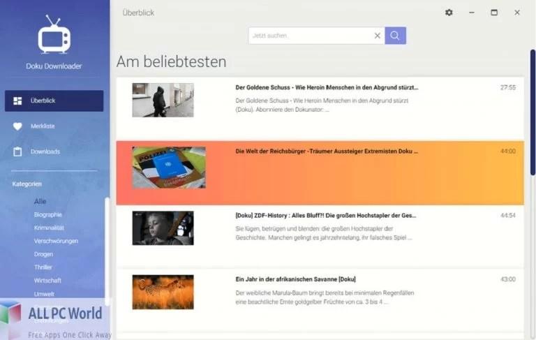 Abelssoft Doku Downloader Plus for Free Download